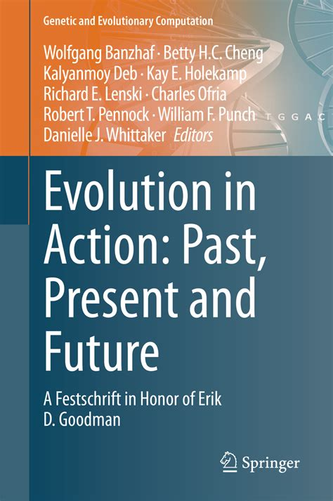 Cover image of book Evolution in Action: Past, Present and Future.  Click for book page at Springer Publishing.